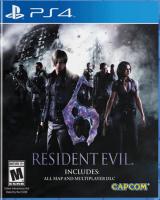игра Resident Evil 6 PS 4
