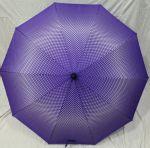 Подарок Зонт-трость 'Paolo' (фиолетовый)