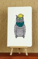 Подарок Тетрадь 'Hipster Cat. Моряк'