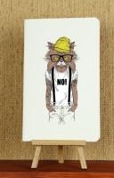 Подарок Тетрадь 'Hipster Cat. NO'