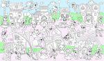 Подарок Обои-раскраски цветные 'Сказочная Страна' (60 х 100 см)