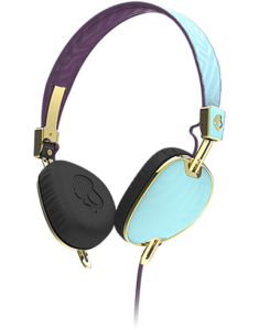 Наушники Skullcandy Navigator Robin-Smoked Purple-Gold
