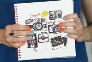 Фотоальбом на пружине 'Smile'
