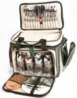 Пикниковый набор посуды для 4 человек Ranger с термосумкой (НВ4-533) (RA 9901)