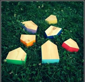 Кубики домики Домики кубики