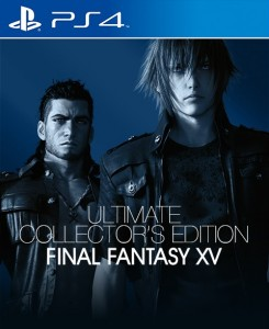 игра Final Fantasy 15 Ultimate Collector's Edition PS4 - Русская версия