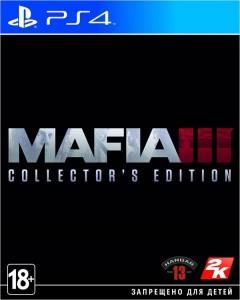 игра Mafia 3 Collector's edition PS4 -  Mafia 3 Коллекционное издание - Русская версия