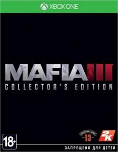 игра Mafia 3 Collector's edition - Коллекционное издание Xbox One - русская версия