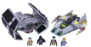 фото Конструктор LEGO 'Усовершенствованный Истребитель Tie Вейдера Против A-Wing' (75150) #3