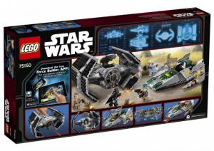 фото Конструктор LEGO 'Усовершенствованный Истребитель Tie Вейдера Против A-Wing' (75150) #5