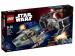 Конструктор LEGO 'Усовершенствованный Истребитель Tie Вейдера Против A-Wing' (75150)