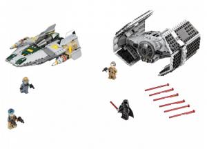 фото Конструктор LEGO 'Усовершенствованный Истребитель Tie Вейдера Против A-Wing' (75150) #2