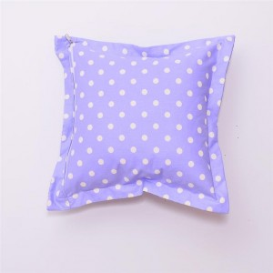 Подушка декоративная Горох-Лаванда