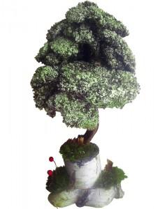Подарок Вечное дерево из мха