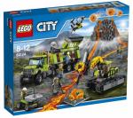Конструктор LEGO 'База Исследователей Вулканов' (60124)
