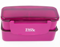 Подарок Ланч бокс Easy Lock (розовый)
