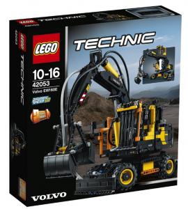 Конструктор LEGO 'Экскаватор Volvo EW 160E' (42053)