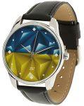 Подарок Наручные часы ZIZ 'Флаг треугольники'