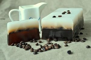 Подарок Натуральне мило 'Кава з молоком'