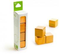 Набор из 4 кубиков (оранжевый)