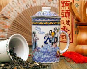 Подарок Кружка-заварник 'Чайное Море'