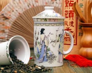 Подарок Кружка-заварник 'Церемония чаепития'