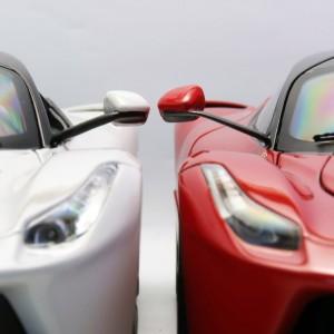 фото Автомодель - LAFERRARI (Bburago, красный, белый, 1:24) #12