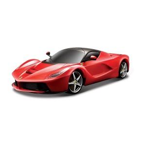 Автомодель - LAFERRARI (Bburago, красный, белый, 1:24)