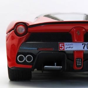 фото Автомодель - LAFERRARI (Bburago, красный, белый, 1:24) #10