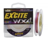 Шнур Fishing ROI Excite WX4 150m 0,23mm (multicolor)
