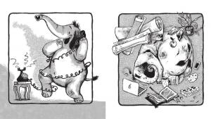 фото страниц Как победить страх белого листа. Тактика креативных побед Слона Симона #4