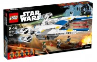 Конструктор LEGO 'Истребитель Повстанцев U-wing' (75155)