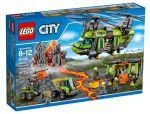 Конструктор LEGO 'Вертолёт Исследователей Вулканов' (60125)