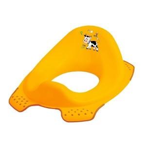 Детская накладка Prima-Baby на унитаз Funny Farm желтая (8723.456)