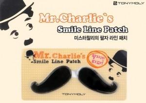 Подарок Гидрогелевые патчи для носогубной зоны Tony Moly 'Mr. Charlie's Smile Line Patch'
