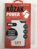 Зарядное устройство UFT Kozak Power 6000 white