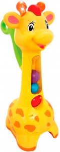 Игрушка-каталка Аккуратный жираф Kiddieland