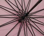 фото Зонт-трость 'Радуга' купольный (белый) #6