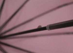 фото Зонт-трость 'Радуга' купольный (белый) #4