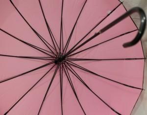 фото Зонт-трость 'Радуга' купольный (белый) #7