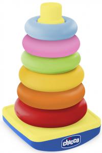 Игрушка-пазл Chicco 'Пирамида-качалка' (07423.50)
