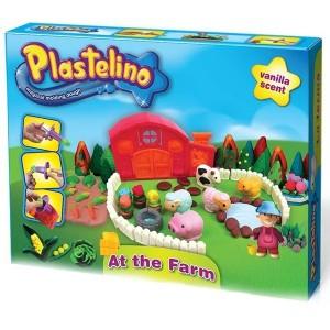 Набор для лепки Plastelino Веселая ферма (NOR2670)