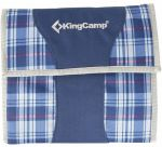 Набор для пикника KingCamp Picnic Cooking Wallet 3 Blue (KG2733 Blue Checkers)