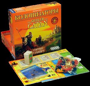 фото Настольная игра Hobby World 'Колонизаторы. Города и Рыцари' (181900) #2