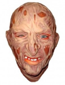 Подарок Карнавальная маска резиновая 'Фредди Крюгер'