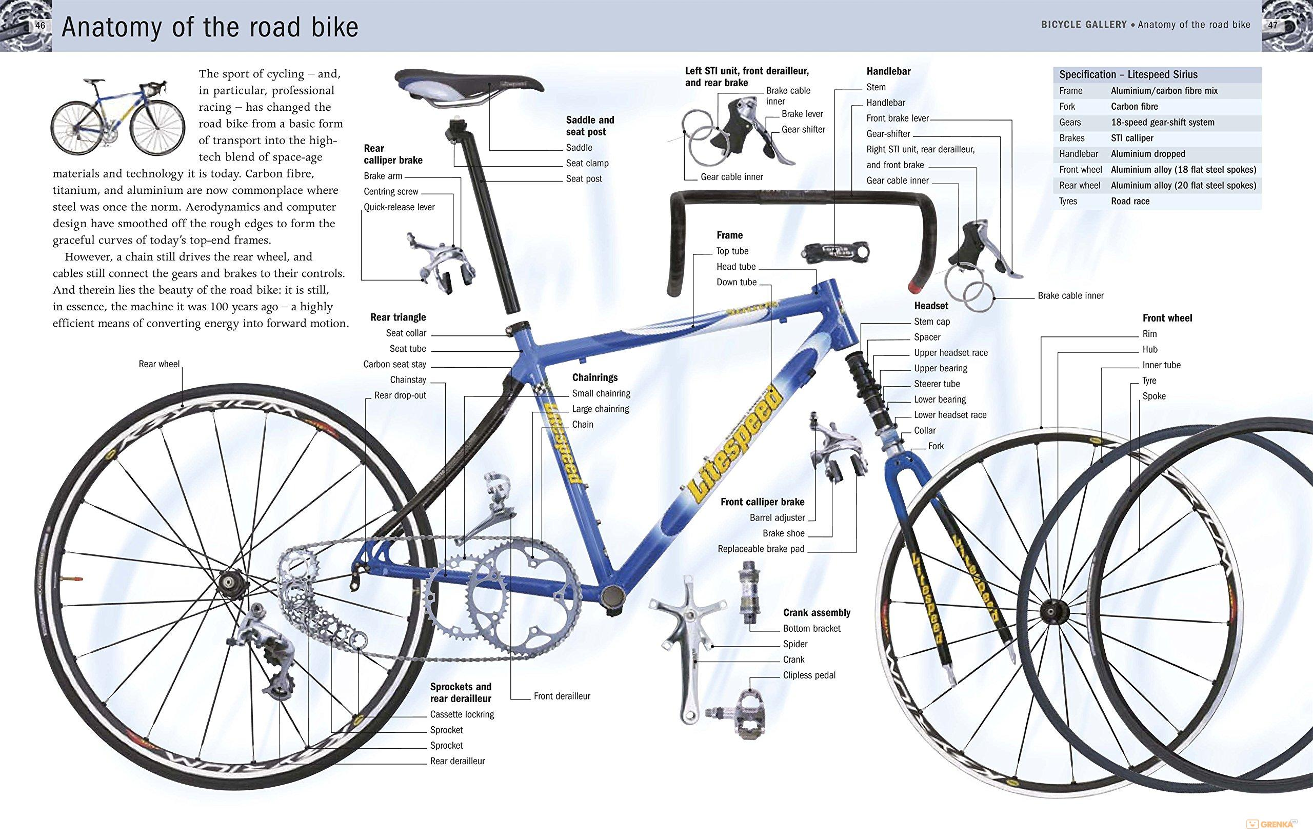 The Complete Bike Book Chris Sidwells