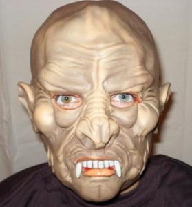 Подарок Карнавальная маска резиновая 'Вампир'