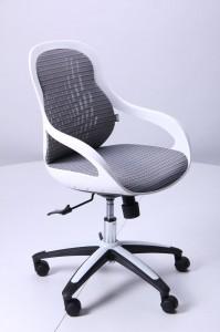 фото Кресло Art Metal Furniture Колибри белый/сетка серая (X-10) (259167) #3