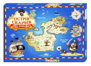 Гра - Ходилка 'Острів скарбів'