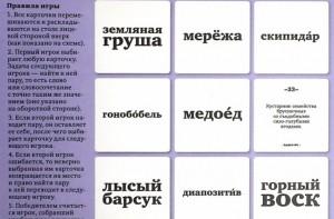 фото Гонобобель. Игра в слова, набор из 100 карточек #3